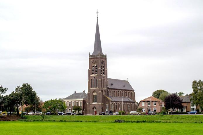 De Batenburgse katholieke kerk.