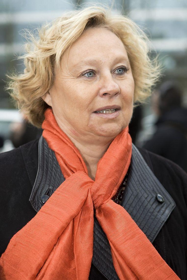 """Archiefbeeld van Anita Van Hoof van BBTK. Ze benadrukt het belang van vorming voor werknemers in de cao. """"Maar dit is een eerste stap"""", zegt ze. """"We moeten er nog verder op werken."""""""