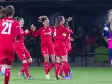 Eerste prijs dichtbij voor FC Twente Vrouwen na zege op PSV