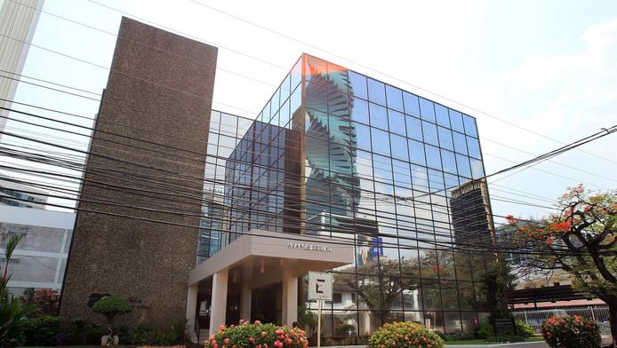 Het hoofdkantoor van Mossack Fonseca in Panama City