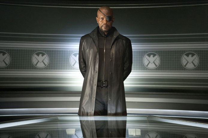 Samuel L. Jackson als Nick Fury, hier in 'The Avengers'