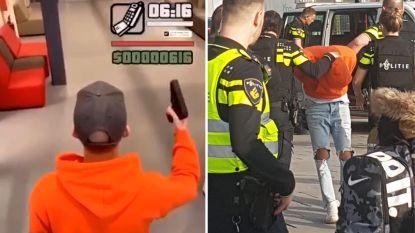 Nederlandse student speelt met nepwapen populair schietspel GTA na: hele school ontruimd