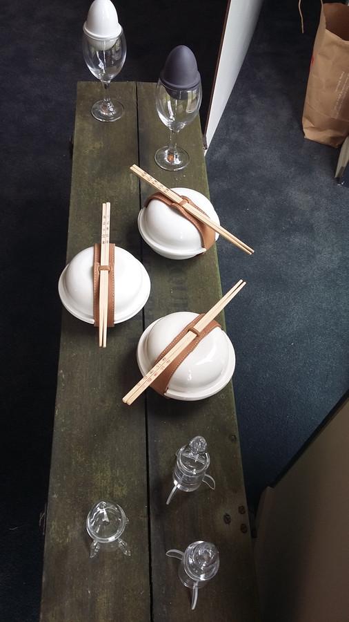 Sjors Driessen ontwerpt ook gebruiksvoorwerpen. Daarmee viel hij al verschillende keren in de prijzen.