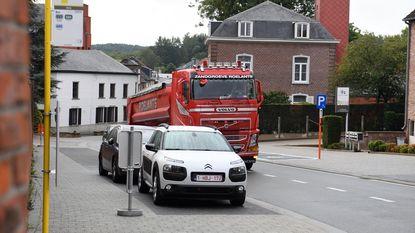Ban zwaar verkeer uit de dorpskern