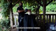 Naar de kapper in de VS? Onze man zijn kapbeurt gebeurt in Central Park