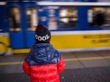Trein weg zonder kind: vader hangt aan noodrem