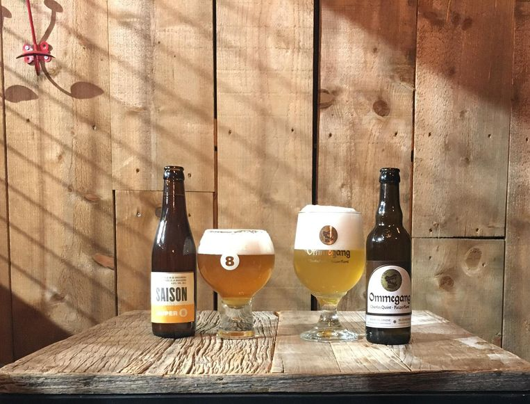 Brouwerij Haacht kaapte twee bierprijzen weg met SUPER 8 Saison en Ommegang.