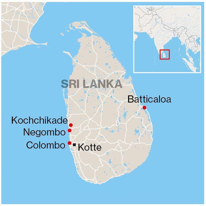Locaties aanslagen.