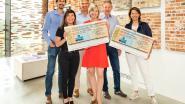 Nelissen Steenfabrieken schenkt 2 500 euro aan Kom op tegen Kanker