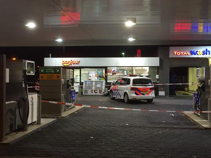De overval op het tankstation van Total in Den Bosch.