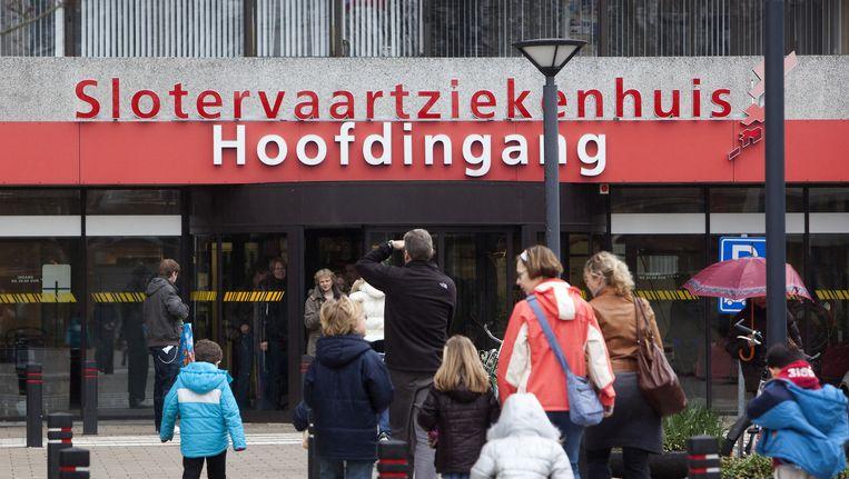 Ingang Slotervaartziekenhuis Beeld anp