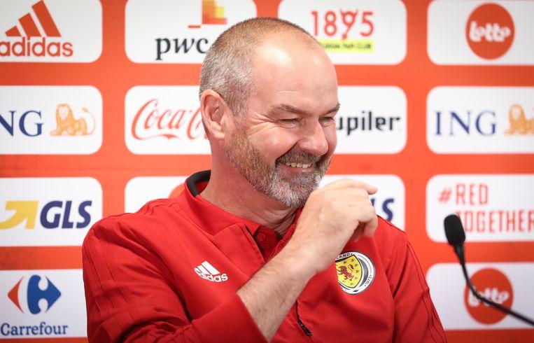 De Schotse bondscoach Steve Clarke.