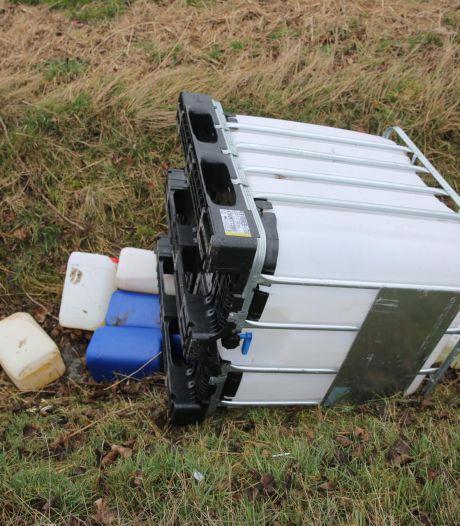 Aantal drugsdumpingen loopt in Halderberge de spuigaten uit