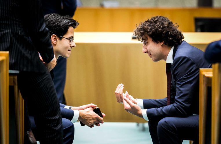 Klaver is Jettens grote concurrent. Beide partijen hebben veel jonge kiezers, D66 relatief zelfs nog meer dan GroenLinks.  Beeld ANP