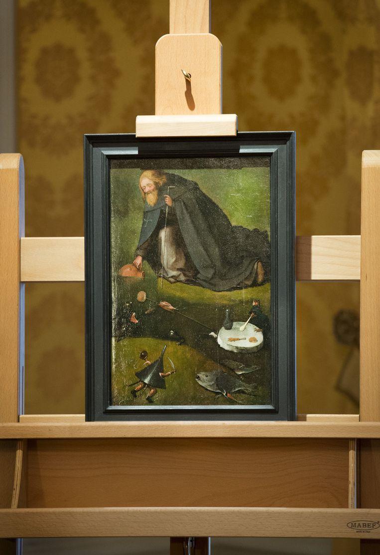 het schilderij van Jeroen Bosch. Beeld Anp