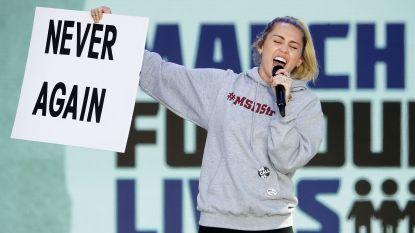 Pakkende beelden March For Our Lives: Ariana Grande, Miley Cyrus, Demi Lovato, Paul McCartney en vele andere celebs laten hun stem horen