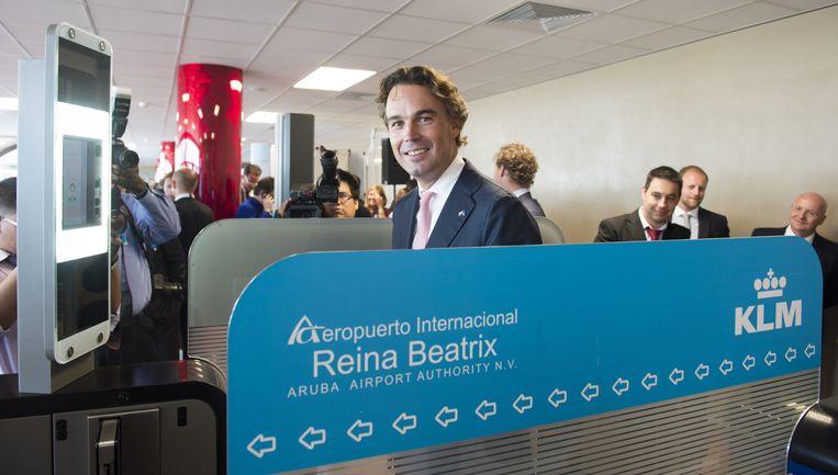 Oud-staatssecretaris Camiel Eurlings werd in 2013 president-directeur van KLM. Beeld anp