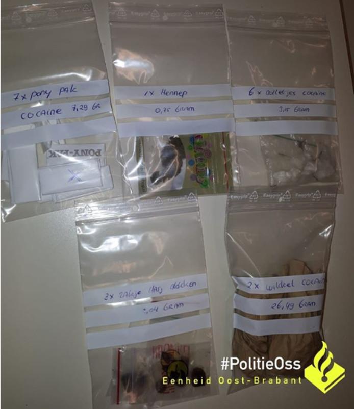 Dealers aangehouden bij de actiedag van politie Oss