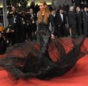 Carolien ter Linden, vorig jaar, op de rode loper in Cannes.