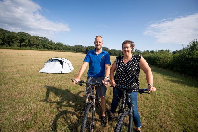 Robert en Bianca Veneklaas zullen naar alle waarschijnlijkheid nog langer geduld moeten hebben voordat ze hun camping De Holterberg kunnen uitbreiden.