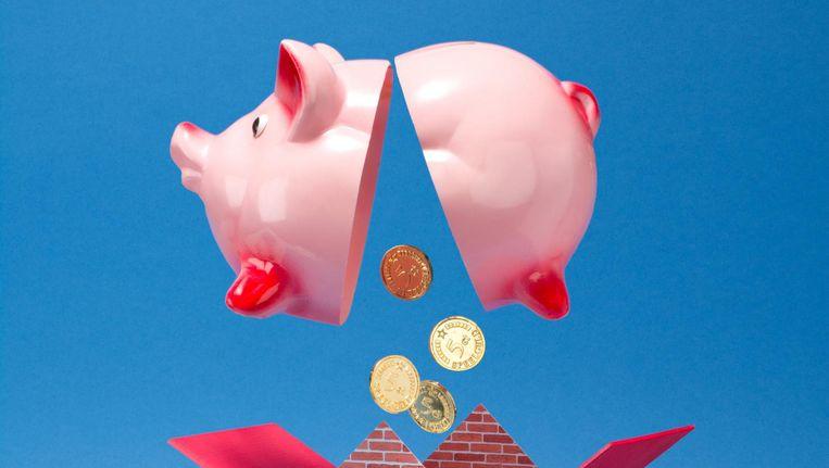 'Een afgeloste hypotheek is de beste pensioenvoorziening die je je kunt wensen' Beeld Vijselaar en Sixma