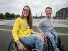 Alternatieve Vierdaagse voor rolstoelers die niet mee mogen doen in Breda als ludiek protest