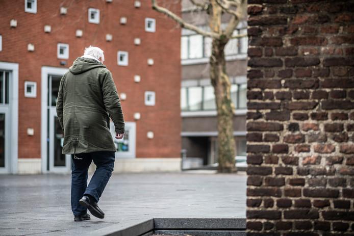 Paul is dakloos in Nijmegen.