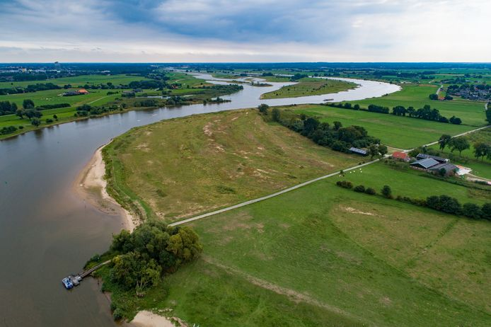 De Zalkerwaard, een stukje nieuwe natuur tussen Zalkerbos, Veerpad en IJssel.