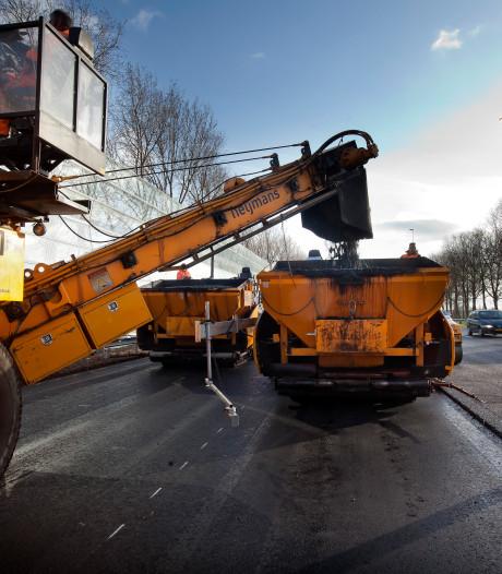 Rijksweg in Naarden twee weken dicht wegens werkzaamheden
