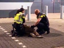 Vier mannen aangehouden op het dak van Mediamarkt Eindhoven, hadden tas met gereedschap bij zich
