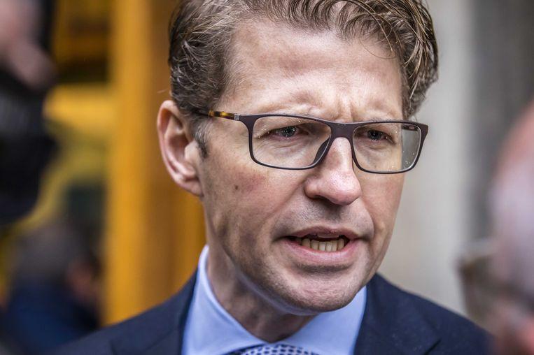 Minister Sander Dekker voor Rechtsbescherming. Beeld anp