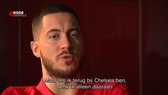 Eden Hazard denkt niet aan transfer naar Real