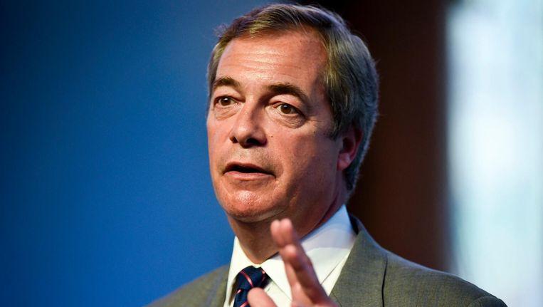 Nigel Farage Beeld afp