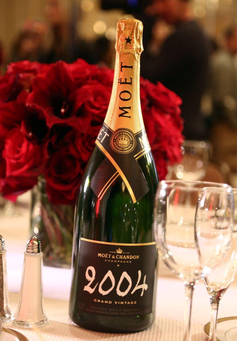 De echte champagne. Beeld ap