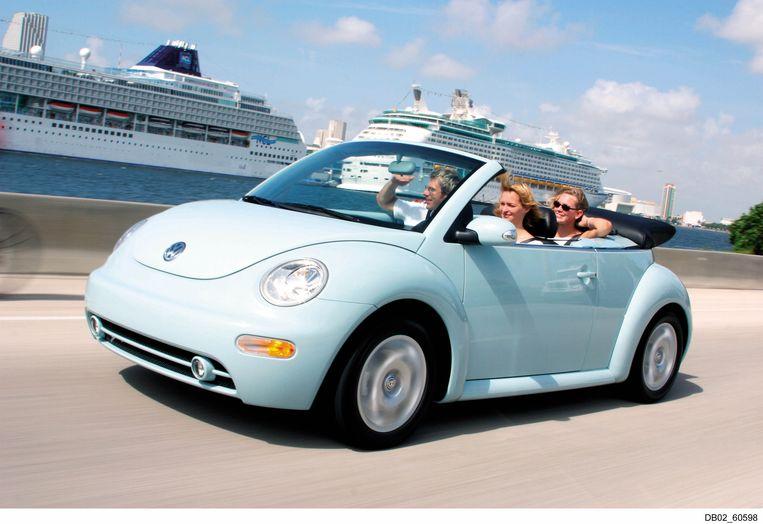 Een New Beetle Cabrio uit 2003.