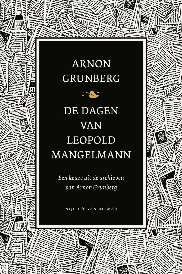 Arnon Grunberg. Nijgh & Van Ditmar, € 24,99. Beeld null