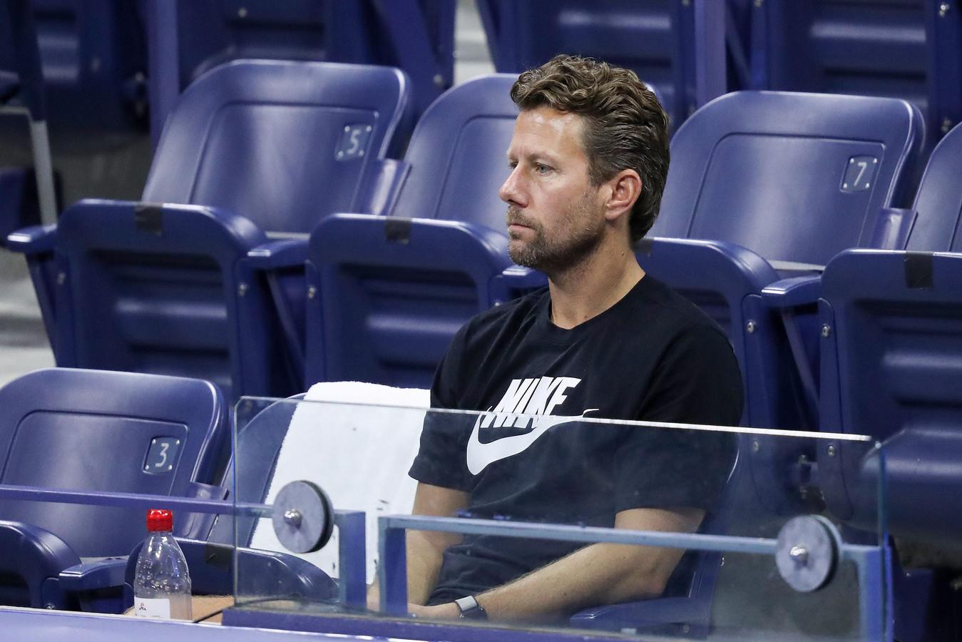 Wim Fissette, ex-coach de Kim Clijsters et mentor de la Japonaise Naomi Osaka, lauréate de l'US Open