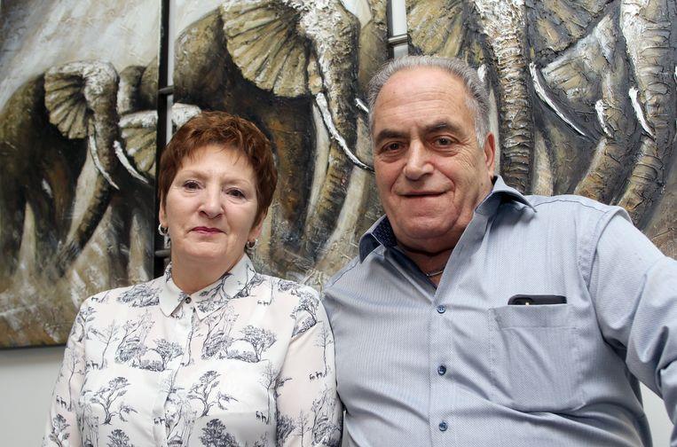 Rafael Guglielmelli en Marleen Ven zijn 50 jaar getrouwd.