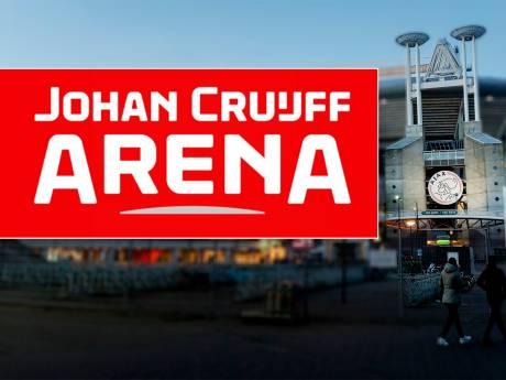 Nieuw logo Johan Cruijff Arena onthuld