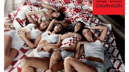 Alle Kardashians poseren samen voor 'onze' Raf Simons