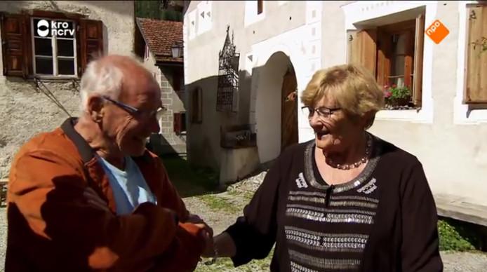 Johan en Diny.