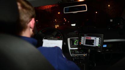 63 chauffeurs geflitst in zone 30