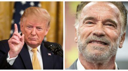 Donald Trump verklaart Arnold Schwarzenegger dood