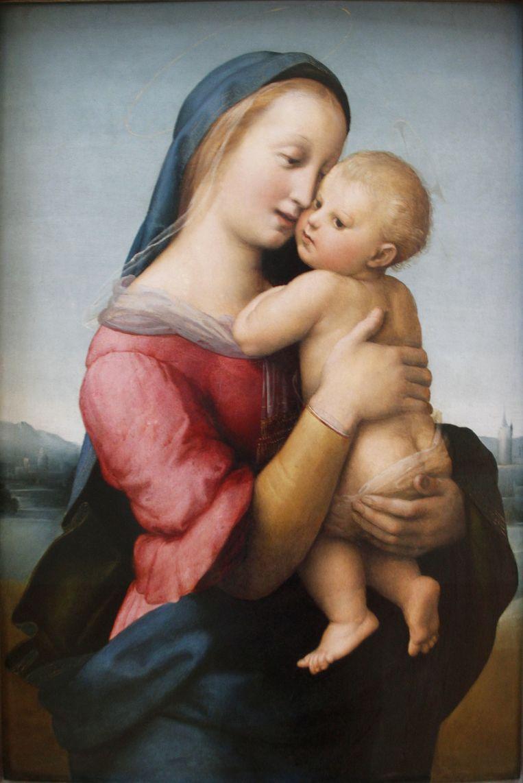 Raphaël - Tempi Madonna 1508 Beeld RV