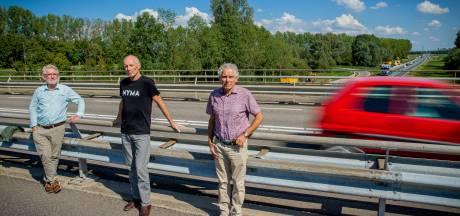 Tegenactie: 'Spaar het landschap, houd Maas en Waalweg tweebaans'
