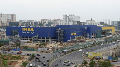 Ikea opent eerste winkel in India, maar de typisch Zweedse balletjes zijn er niet bij