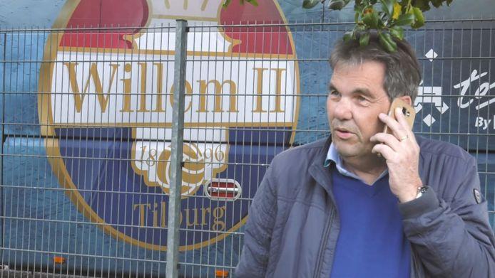 Willem II-clubwatcher Wilber Hack