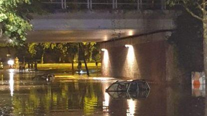 OVERZICHT. Onweer sloeg hard toe in Kortrijk: Basic Fit en kelder AZ Groeninge ondergelopen - Modder ruimen in Hoegaarden