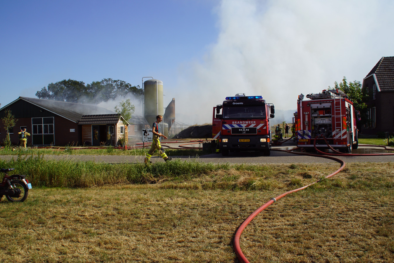 De schuurbrand in Beltrum