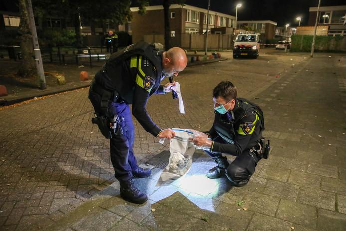 Onderzoek in de Papendrechtstraat, Rotterdam